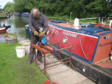 Drilling the final ballast sections