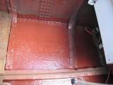 Front panel under sink