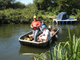 Nigel brings in the boat for the other job -