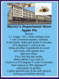 Harvey's Apple Pie recipe