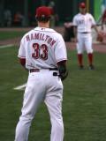 Hamilton warm up