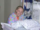 nurse taking care of Eva