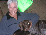 Renda and the dog