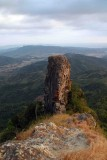 Towards the rock