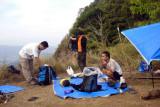 Break camp