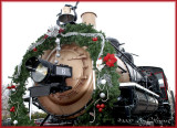 real train, display
