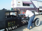 JACK JONES HELPS WITH SOME TUNING ON GUY'S RAT ROD