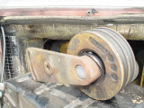 ON A RECENT TRIP THIS HAPPENED TO THE IDLER PULLEY BEARINGS, SOME ARE ACTUALLY GONE SEE MY NOTE BELOW