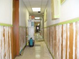 EVEN THE HALLWAYS ARE GETTING THE REMODELING JOB DONE TO THEM