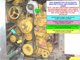 CAT 3208NA BELTS PART NUMBERS