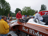 Vintage Hydroplane Best Wishes 222-H