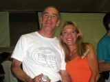 Spokanites Dave Remington (buckler) and me