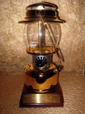 The Coleman gold lantern award for first place woman