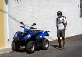 we rented a 4-wheeler