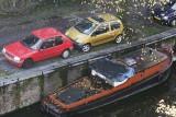 Amsterdam parking lot