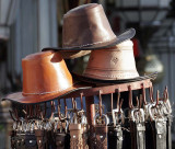 Hats and belts, tourists, for the use of.