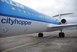Boarding the flight to Amsterdam