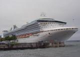 Grand Princess 2,600 passengers, Port de of Québec