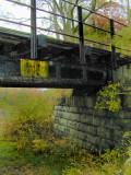 metal bridge....