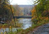 stone bridge in the fall....