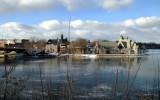 trintiy to the ovid st. bridge..winter