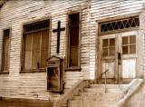 california church...