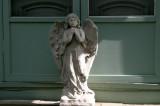 angel at the doorway...