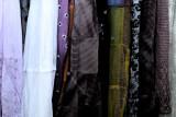 silk skirts...