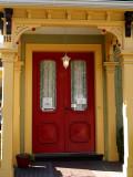 yellow doorway...