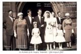 Wedding of John Shaw & Margaret Venables
