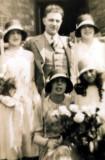 Wedding of Wilfred Bernard Shaw & Grace Thompson
