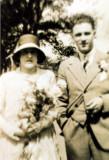 Grace Thompson & Wilfred Bernard Shaw- wedding day
