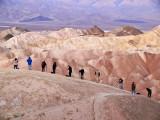 Photographers, Zabriskie Point, Death Valley National Park, California, 2007