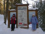 Winter in Johnston Canyon