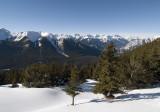 Winter on Sulphur Mtn