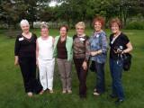 Linda, Karen, Joyce, Bonnie, Marse and Virginia