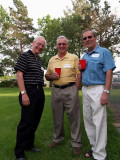 George Churchill, Phil Frey and Tom Lang