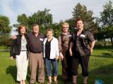 Ali, Gordon, Sharlene, Bonnie and Bev