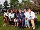 Karen, Joan, Gordon, Ali,  Linda, Rose and Dena