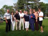 Al, Donna, Dean, Russ, Rudy, Linda, Ralph, Linda, Faye and Karen