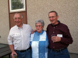 Dave Smith, June Patrick (Wachs) and Dennis Adams
