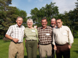 Bill, Marguerite, Jim. Howard and Cliff