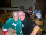 Marj Galbraith (Buxton) and Mr. Kraft