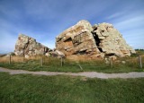 Okotoks Erratic - ultra wide angle