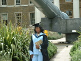 Florence Johnsons Graduation Ceremony
