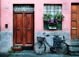 A passionate love affair between Lucca and  bicycles