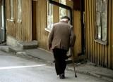 walking shady side of the street