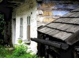 gutter CE  - good, wooden, old Europe