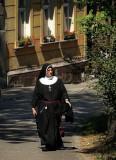 sunny, cracovian nun