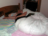 sleeping with Gordon